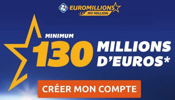 Super Cagnotte Euromillions du vendredi 20 avril 2018