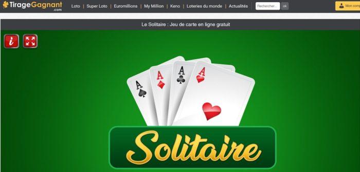 Jeu du Solitaire par Tirage-gagnant.com