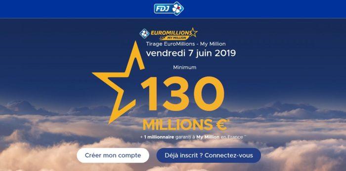 jouer au super tirage euromillions du 7 juin 2019